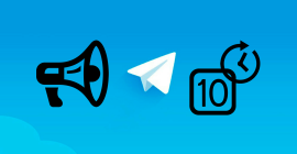Как за 10 минут сделать рекламный пост в Telegram для партнёрки
