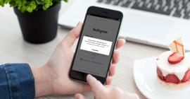 Восстановление Instagram аккаунта — способ 2