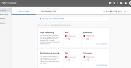 Google Ads анонсировал новый инструмент Policy manager