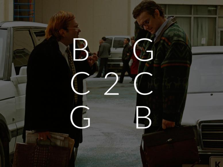 B2B, B2C, C2B, C2C бизнес-модели