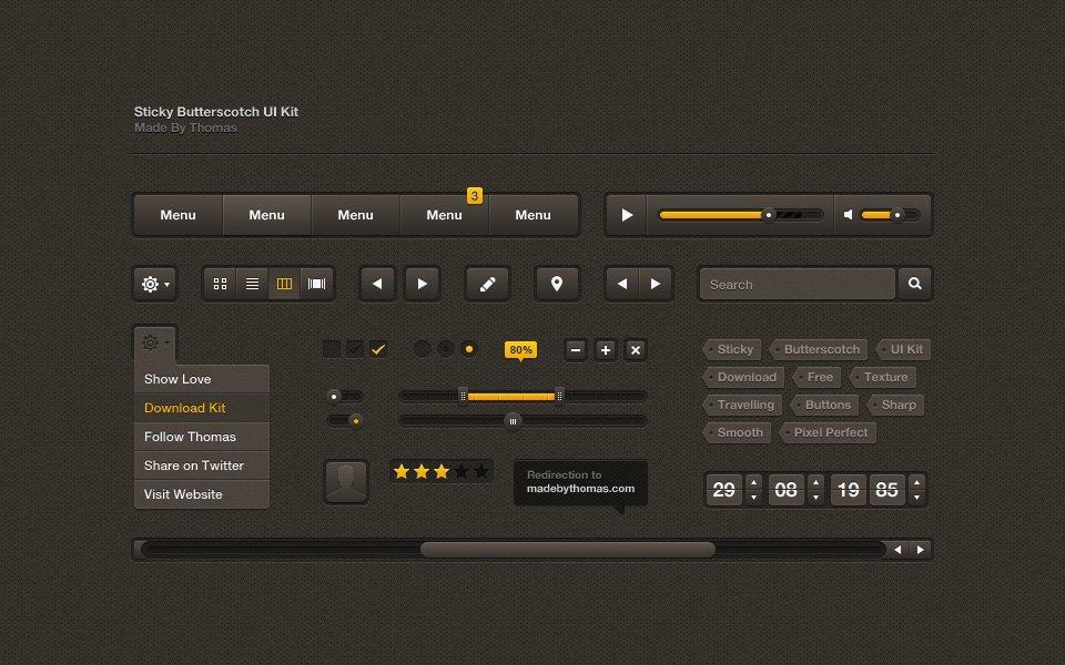 Пример UI-интерфейса