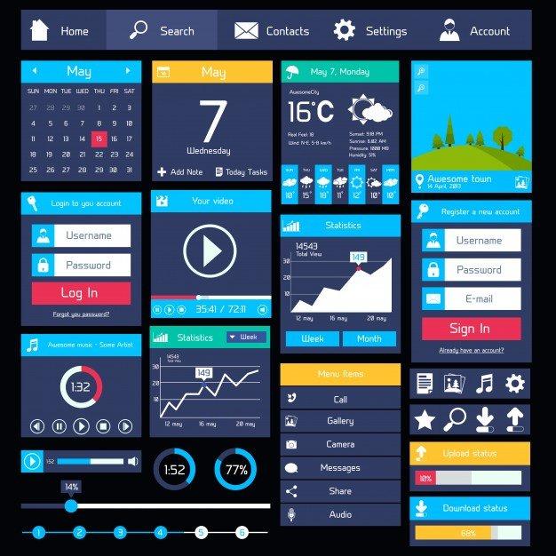 Примеры UI-интерфейса