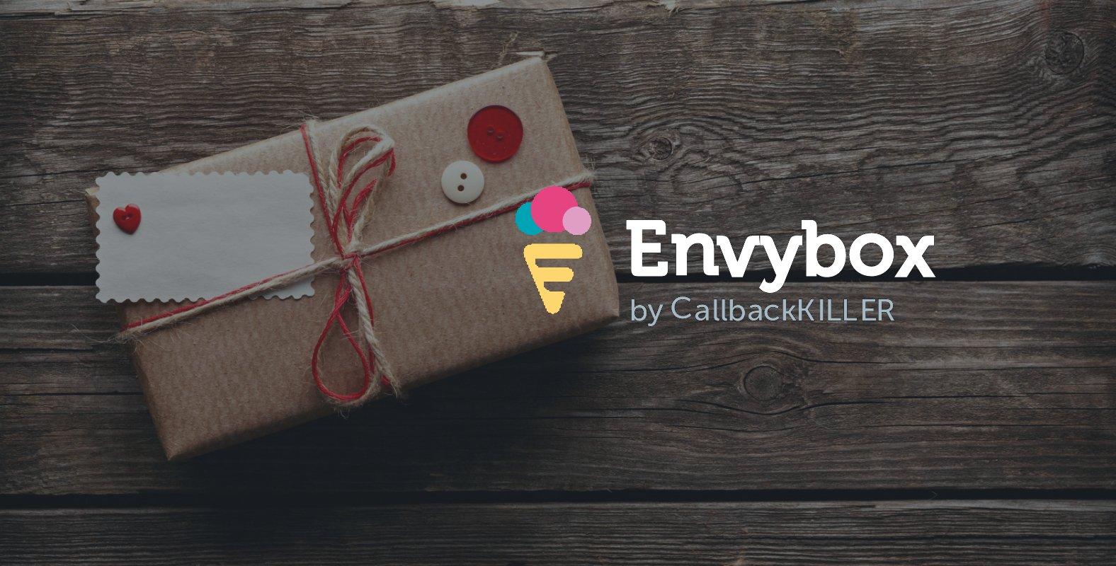 Что в коробке Envybox?