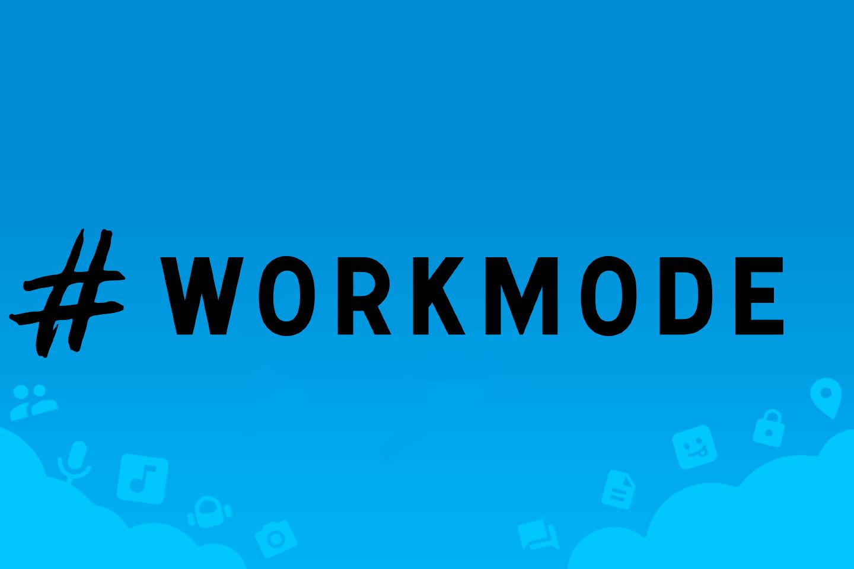 Функция workmode («режим работы») в Telegram Desktop