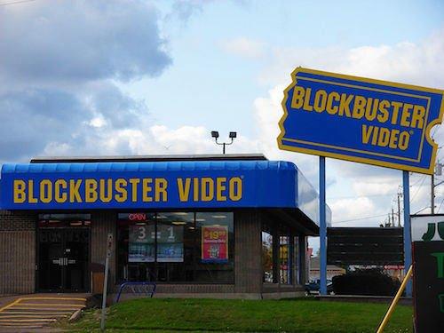 Blockbuster: много магазинов, много работников, мало инноваций.
