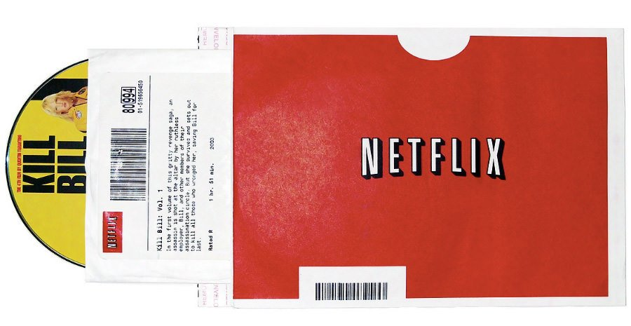 «Эй, а где ты достал этот DVD?». Фирменные упаковки Netflix улучшили узнаваемость бренда.