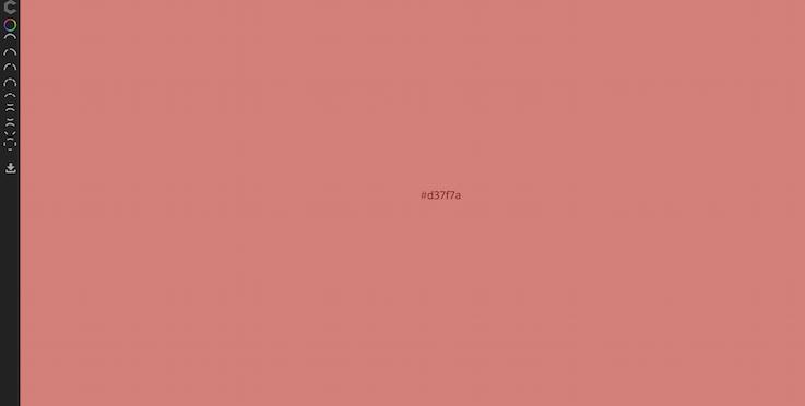 Выбор цвета, основанные на hsl. Схема включает разные комбинации цвета