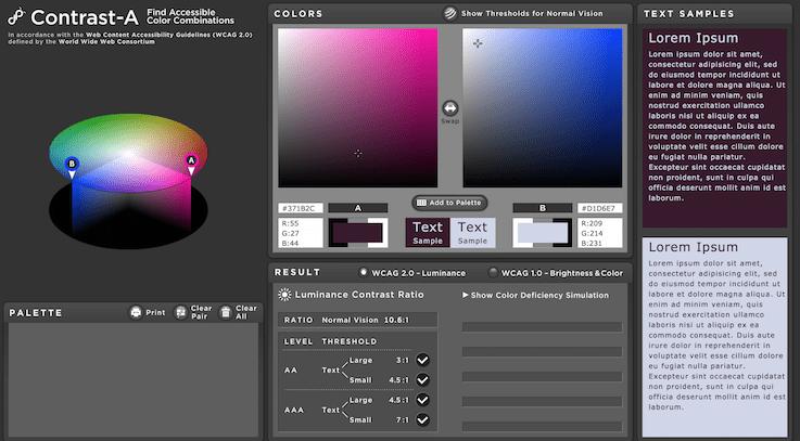 Приложение позволяет пользователям экспериментировать с цветовыми комбинациями, создавать собственные