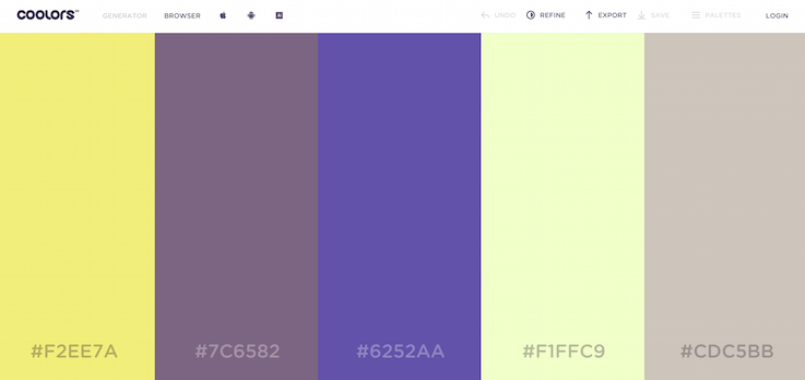 Быстрый генератор цветовой схемы для дизайнеров