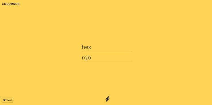 Сайт, подбирающий цвет