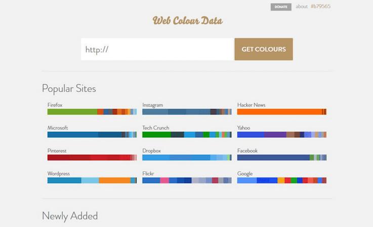 Делает разбивку любого сайта по цветовой гамме (по номерам и образцам)