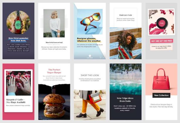 Новые шаблоны рекламных Stories от Facebook