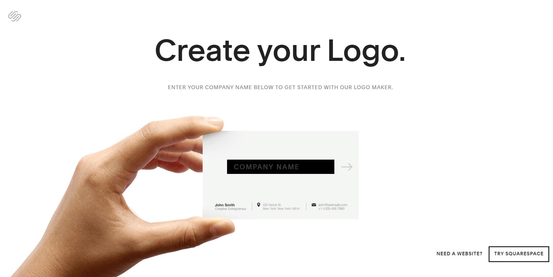 SquareSpace логотипы