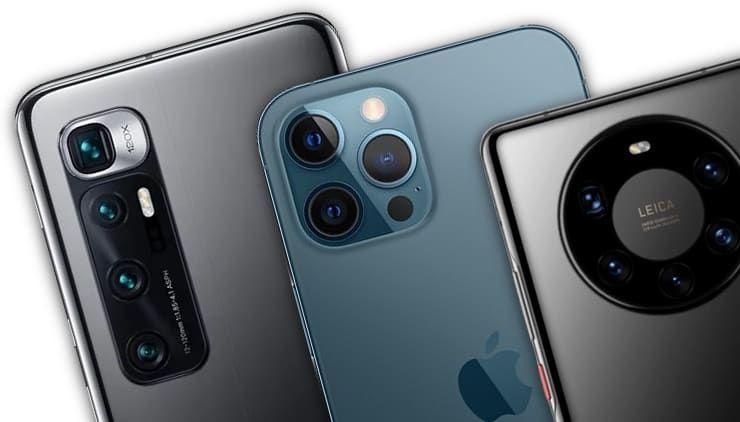 ТОП-3 лучших смартфона с хорошей камерой и водозащитой